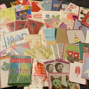 Bundle of 42 Papyrus Cards - 84 TOTAL CARDS